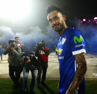 [VIDEO] Pinigol está de vuelta: Mauricio Pinilla tuvo su fiesta de bienvenida
