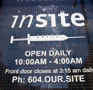 La clínica Insite en el barrio de Downtown Eastside, en Vancouver, fue el primer sitio de inyección supervisada que abrió en Canadá.