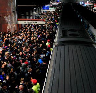 Metro registró congestión y retraso en frecuencia esta mañana en Línea 1