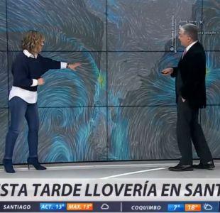 [VIDEO] Michelle Adam explica cómo será el sistema frontal: Hoy llegarían las lluvias a Santiago
