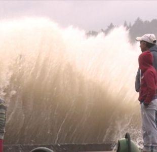 [VIDEO] Se esperan las marejadas más grandes del año en Valparaíso