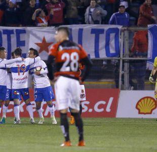 La UC da vuelta el partido ante Rangers y avanza a octavos de final de la Copa Chile