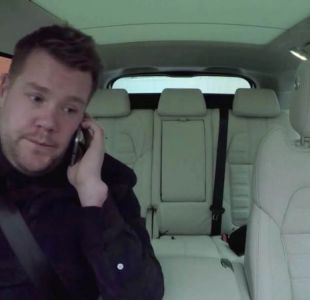 "James Corden lidera ""Carpool karaoke"""