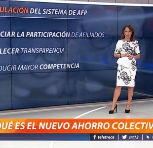[VIDEO] Constanza Santa María explica la reforma que pretende mejorar las pensiones