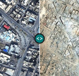 Los mapas, fotos y gráficos que muestran la devastación de Mosul