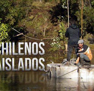 Chilenos aislados
