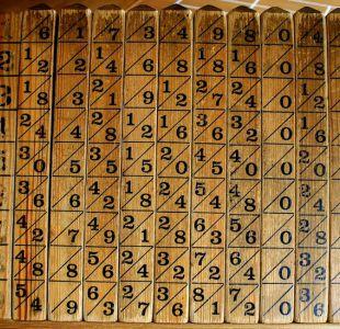 Ponte a prueba con la calculadora de hace 400 años que quiso quitarle lo tedioso a las matemáticas