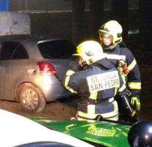 Choque de un auto con maquinaria pesada deja tres personas fallecidas en el Biobío