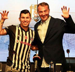 """""""Estoy aquí para mantener los logros"""": Gary Medel es presentado en Besiktas"""
