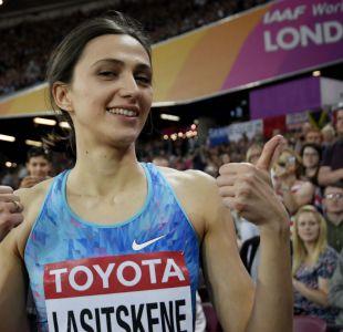 Maria Lasitskene revalida su título mundial de salto alto en Londres 2017