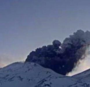 Tres volcanes de Chile se encuentran bajo Alerta Amarilla