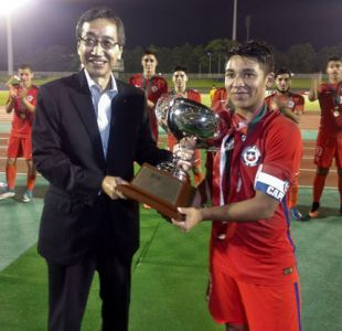 Selección chilena Sub 20 se queda con el título en la SBS International Cup en Japón