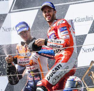 El italiano Andrea Dovizioso conquista el Gran Premio de Austria en MotoGP
