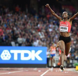 Obiri gana oro en 5000 metros y evita doblete de Ayana en pruebas de fondo de Londres 2017
