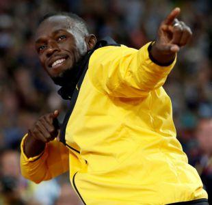 [VIDEO] La divertida carrera de Usain Bolt en un vuelo de gravedad cero