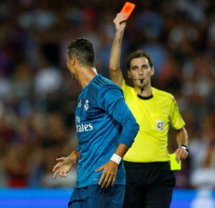 Cristiano Ronaldo es sancionado con cinco partidos por expulsión en Supercopa de España