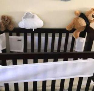 El mortal peligro que unos padres encontraron cerca de la cuna de su bebé