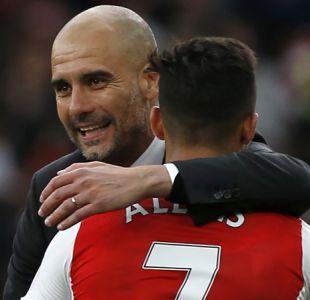 [VIDEO] Guardiola se desespera por tener a Alexis Sánchez en Manchester City