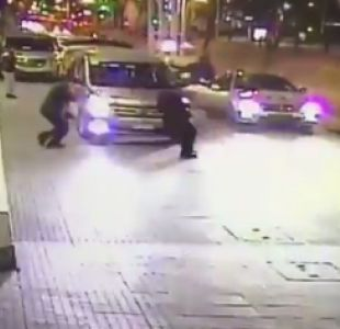 [VIDEO] Carabineros detiene a sujetos que robaron en Hotel de Vitacura