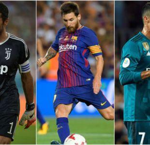 Cristiano Ronaldo, Messi y Buffon disputarán premio a mejor jugador UEFA