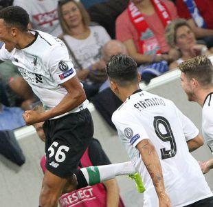 Liverpool derrota a Hoffenheim en Alemania en fase previa de la Champions League