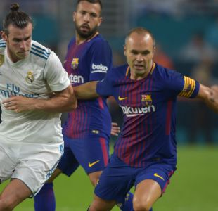 Andrés Iniesta se pierde por lesión vuelta de la Supercopa de España ante Real Madrid