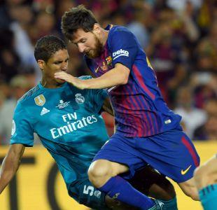 Barcelona visita al Real Madrid buscando una remontada en la Supercopa de España