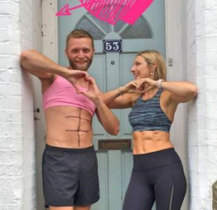 [FOTOS] La disparatada parodia de un hombre a su pareja fitness