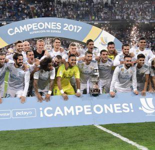 Real Madrid vuelve a superar al Barcelona para ganar la Supercopa de España