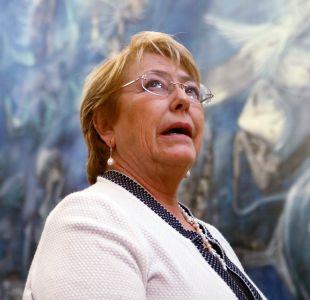 Adimark: Bachelet alcanza la mayor aprobación desde febrero de 2015