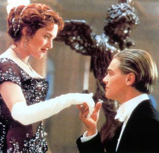 "Kate Winslet y Leonardo DiCaprio protagonizaron ""Titanic"""