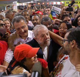 Lula arranca su caravana para reconquistar Brasil