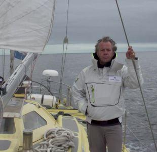 El explorador británico que quiere completar una hazaña sin precedentes: cruzar el Ártico en velero