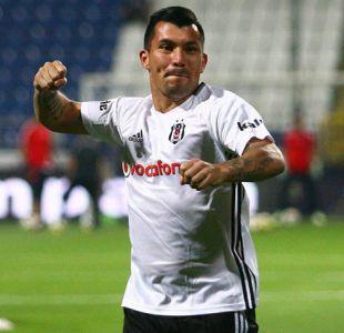 Gary Medel debuta con Besiktas en empate ante Kasimpasa por la Süper Lig turca