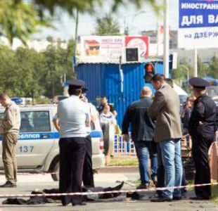 El EI reivindica un ataque con cuchillo en Rusia que dejó 7 heridos