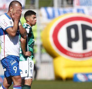 La UC deja escapar el triunfo ante Santiago Wanderers y se complica en el Transición