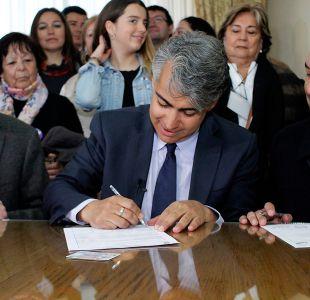 Marco Enríquez-Ominami inscribió su candidatura presidencial ante el Servel