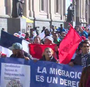 [VIDEO] Inmigrantes marcharon por Santiago
