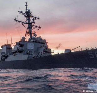 Diez marineros desaparecidos tras un nuevo choque de un destructor estadounidense