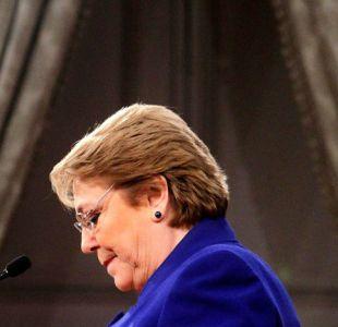 Bachelet calificó como doloroso el cambio de gabinete tras renuncia de equipo económico