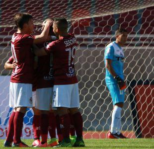 [VIDEO] Goles Primera B fecha 4: La Serena golea a San Marcos en La Portada