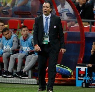 """Pizzi y retiro de Mirosevic: """"Tiene experiencia de sobra y creo que va a seguir ligado al fútbol"""""""