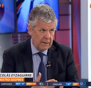Nicolás Eyzaguirre - ministro Secretario General de la Presidencia