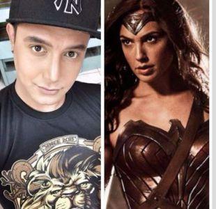 Quiso transformarse en la Mujer Maravilla solo usando maquillaje y lo logró
