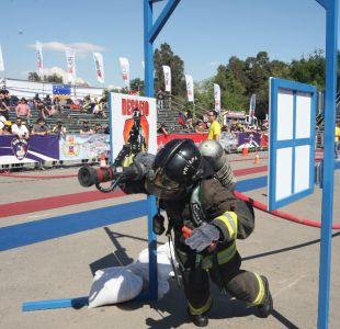Bomberos elige representantes para competir en torneo internacional