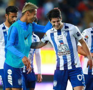 Futbolistas chilenos brillan en México: Ángelo Sagal, Nicolás Castillo y Sebastián Vegas anotan