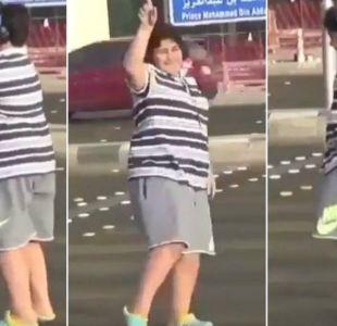 El joven detenido por bailar Macarena en una calle de Arabia Saudita