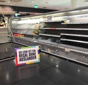 El motivo por el que un supermercado en Alemania quitó de sus estantes los productos extranjeros