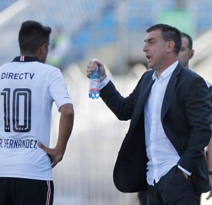 """Aníbal Mosa y futuro de Pablo Guede en Colo Colo: """"Lo vamos a evaluar a fin de año"""""""