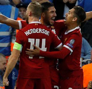 Liverpool golea a Hoffenheim y jugará la Liga de Campeones